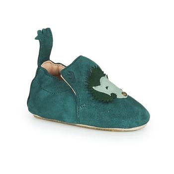 Zapatos Niños Pantuflas Easy Peasy BLUBLU HERISSON Suave / Paon / Suave / Patin