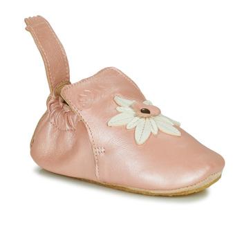 Zapatos Niña Pantuflas Easy Peasy BLUBLU EDELWEISS Suave / Rosa / Baba / Suave / Patin