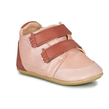Zapatos Niña Pantuflas Easy Peasy IRUN B Suave / Rosa / Baba / Suave / Premarche