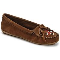 Zapatos Mujer Mocasín Minnetonka THUNDERBIRD II Marrón