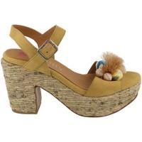 Zapatos Mujer Sandalias Hobby 606 MOSTAZA amarillo