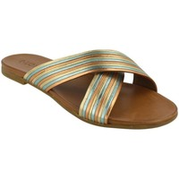 Zapatos Mujer Zuecos (Mules) Inuovo 101047 LIME Oro