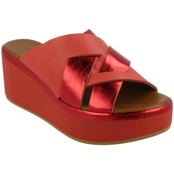 Zapatos Mujer Zuecos (Mules) Inuovo 124008 CHERRY Rojo