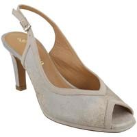 Zapatos Mujer Sandalias Platino 1196064 SASSO Gris