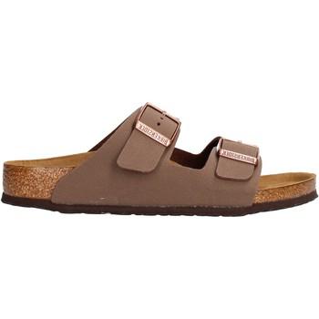 Zapatos Niño Chanclas Birkenstock - Arizona marrone 552893 MARRONE