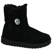 Zapatos Mujer Botas de nieve H.f Shoes Botas botÓn NEGRO