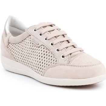 Zapatos Mujer Zapatillas bajas Geox D Myria B Beige