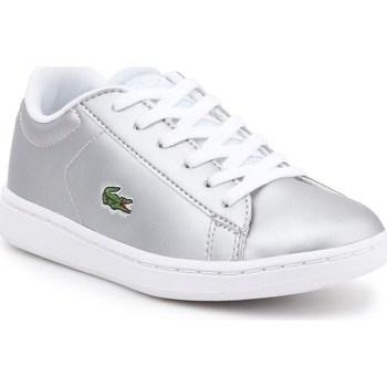 Zapatos Niños Zapatillas bajas Lacoste 734SPC0006334 Plateado