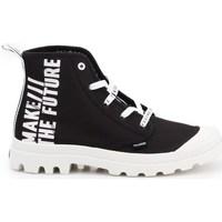 Zapatos Mujer Zapatillas bajas Palladium Manufacture Pampa HI Future Blanco, Negros