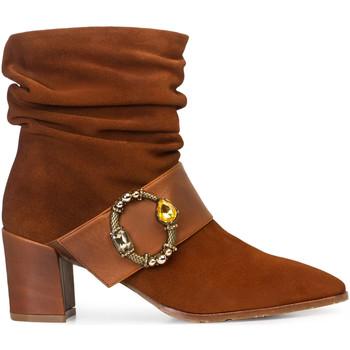 Zapatos Mujer Botines Paco Gil ROCIO Marrón
