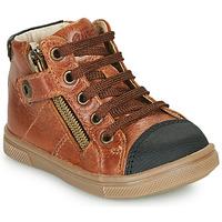 Zapatos Niño Zapatillas altas GBB KAMIL Marrón