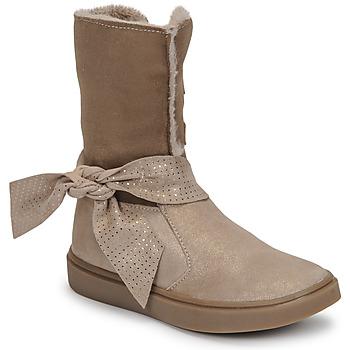 Zapatos Niña Botas urbanas GBB EVELINA Beige