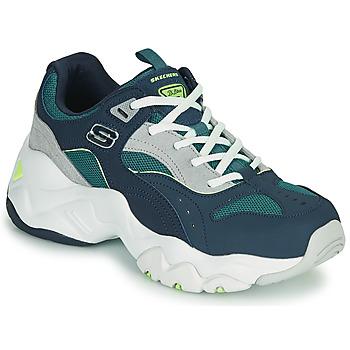Zapatos Mujer Zapatillas bajas Skechers D'LITES 3.0/OCEAN CLOUD Marino