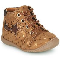Zapatos Niña Zapatillas altas GBB POMME Marrón