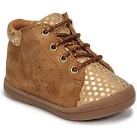 Zapatos Niña Zapatillas altas GBB NAHIA Marrón