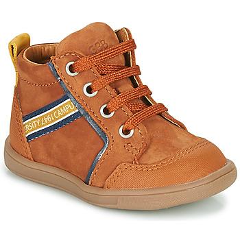 Zapatos Niño Zapatillas altas GBB GERMAIN Marrón