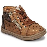 Zapatos Niña Zapatillas altas GBB VALA Marrón