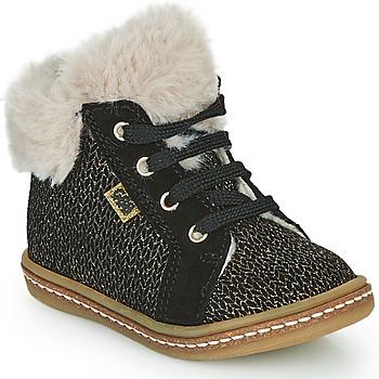 Zapatos Niña Zapatillas altas GBB JUNA Negro