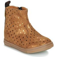 Zapatos Niña Botas de caña baja GBB ERNA Marrón