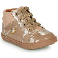 Zapatos Niña Zapatillas altas GBB THEANA Beige