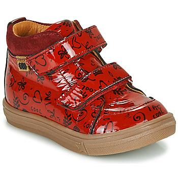 Zapatos Niña Zapatillas altas GBB DOMENA Rojo