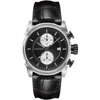 Relojes & Joyas Mujer Relojes analógicos Versace VEV400119, Quartz, 44mm, 5ATM Plata