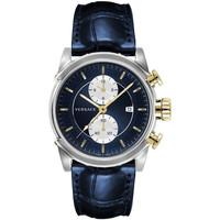 Relojes & Joyas Hombre Relojes analógicos Versace VEV400219, Quartz, 44mm, 5ATM Plata