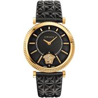 Relojes & Joyas Mujer Relojes analógicos Versace VQG040015, Quartz, 38mm, 3ATM Oro