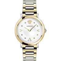 Relojes & Joyas Mujer Relojes analógicos Versace VEVD00519, Quartz, 36mm, 5ATM Oro