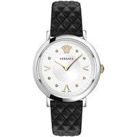 Relojes & Joyas Mujer Relojes analógicos Versace VEVD00119, Quartz, 36mm, 5ATM Plata