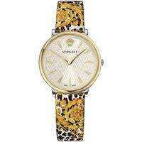 Relojes & Joyas Mujer Relojes analógicos Versace VBP120017, Quartz, 36mm, 5ATM Oro