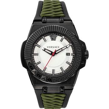 Relojes & Joyas Hombre Relojes analógicos Versace VEDY00419, Quartz, 46mm, 5ATM Gris