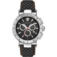Relojes & Joyas Hombre Relojes analógicos Versace VFG040013, Quartz, 43mm, 5ATM Plata