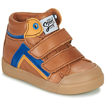 Zapatos Niño Zapatillas altas GBB ERNEST Marrón