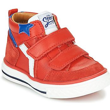 Zapatos Niño Zapatillas altas GBB FLAVIO Rojo