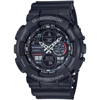 Relojes & Joyas Hombre Relojes mixtos analógico-digital Casio GA-140-1A1ER, Quartz, 51mm, 20ATM Negro