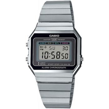 Relojes & Joyas Hombre Relojes digitales Casio A700WE-1AEF, Quartz, 33mm, 3ATM Plata