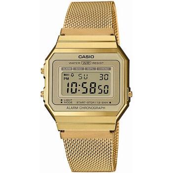 Relojes & Joyas Hombre Relojes digitales Casio A700WEMG-9AEF , Quartz, 33mm, 3ATM Oro