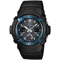 Relojes & Joyas Hombre Relojes mixtos analógico-digital Casio AWG-M100A-1AER, Quartz, 46mm, 20ATM Negro