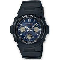 Relojes & Joyas Hombre Relojes mixtos analógico-digital Casio AWG-M100SB-2AER, Quartz, 46mm, 20ATM Negro