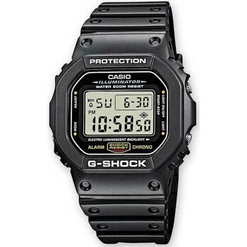 Relojes & Joyas Hombre Relojes digitales Casio DW-5600E-1VER, Quartz, 43mm, 20ATM Negro