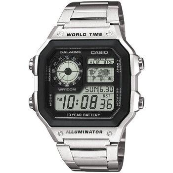 Relojes & Joyas Hombre Relojes digitales Casio AE-1200WHD-1AVEF, Quartz, 42mm, 10ATM Plata