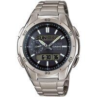 Relojes & Joyas Hombre Relojes mixtos analógico-digital Casio WVA-M650TD-1AER, Quartz, 44mm, 10ATM Plata