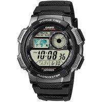 Relojes & Joyas Hombre Relojes digitales Casio AE-1000W-1BVEF, Quartz, 43mm, 10ATM Negro