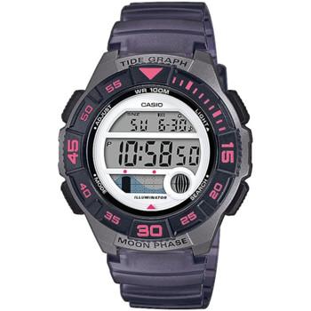 Relojes & Joyas Mujer Relojes digitales Casio LWS-1100H-8AVEF, Quartz, 38mm, 10ATM Plata