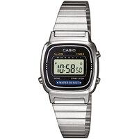 Relojes & Joyas Mujer Relojes digitales Casio LA670WEA-1EF, Quartz, 24mm, 3ATM Plata