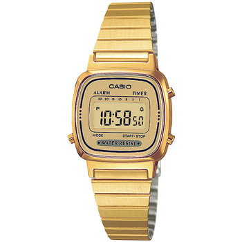 Relojes & Joyas Mujer Relojes digitales Casio LA670WEGA-9EF, Quartz, 24mm, 1ATM Oro