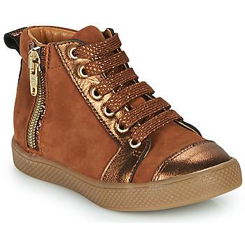 Zapatos Niña Zapatillas altas GBB SAVIA Marrón