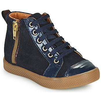 Zapatos Niña Zapatillas altas GBB SAVIA Azul