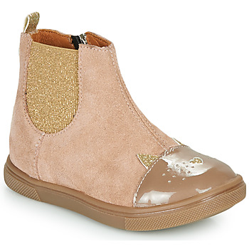 Zapatos Niña Botas de caña baja GBB JESSINE Beige